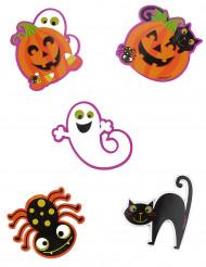 10 Große Konfetti-Dekorationen Kleine Halloween-Monster