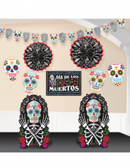 Dekorationsset Dia de los Muertos
