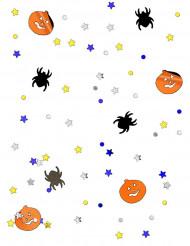 Halloween-Konfetti Kürbis und Spinne