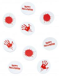 Dekoration Konfetti blutiges Halloween