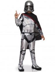 Captain Phasma™-Star Wars Lizenzkostüm für Kinder grau-schwarz