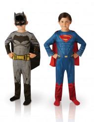 Set aus 2 Kostümen für Kinder: Batman und Superman - Dawn of Justice (TM)