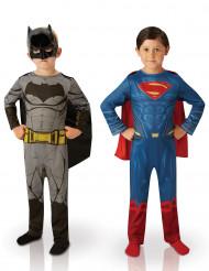 Set aus 2 Kostümen für Kinder: Batman und Superman - Dawn of Justice™