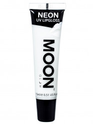 Weißer UV-Lipgloss mit Vanillearoma von Moonglow 15ml