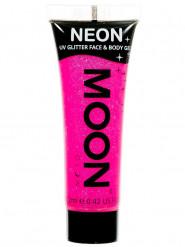 Fuchsiafarbenes UV-Gel für Körper und Gesicht von Moonglow 12ml