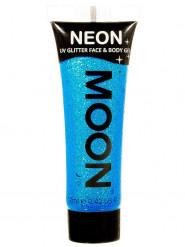 Neonblaues UV Glitzergel für Körper und Gesicht von Moonglow 12ml