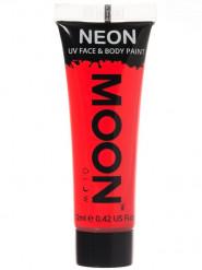 UV-Creme für Gesicht und Körper fluoreszierend rot von Moonglow 12 ml