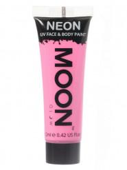 UV Schminkfarbe für Gesicht und Körper Pastellrosa von Moonglow 12 ml