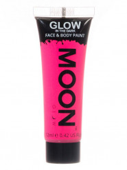 Fluoreszierendes Gel für Gesicht und Körper in rosa 12ml