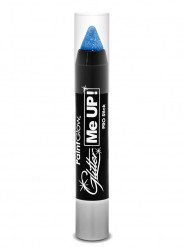 Glitzer UV-Make-Up Schminkstift blau 3 g