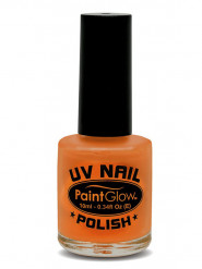 UV-leuchtender Nagellack orange 10 ml