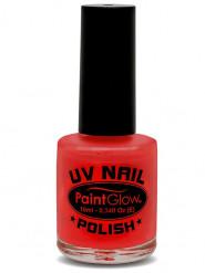 UV-leuchtender Nagellack rot 10 ml
