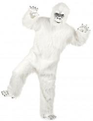 Deluxe Yeti Kostüm für Erwachsene weiß