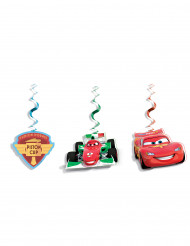 3 aufhängbare Dekorationen Cars Ice ™