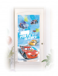 Tür-Dekoration Cars Ice Racers 76 x 150 cm