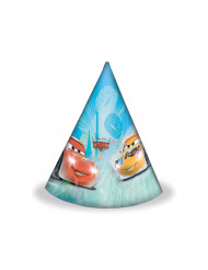 6 Party-Hüte mit Cars-Motiv