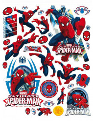 Spiderman™ Fenster-Sticker Dekoset 42 x 30 cm