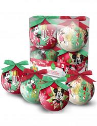4 Weihnachtskugeln Micky Maus™
