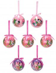 7 Minnie™-Weihnachtskugeln