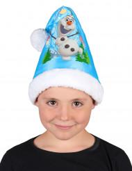 Blaue Weihnachtsmütze mit Olaf aus Die Eiskönigin™