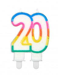 """Geburtstagskere """"20 Jahre"""""""