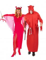 Rote Teufel - Paarkostüm Halloween