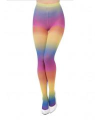 Regenbogenfarbene Strumpfhose