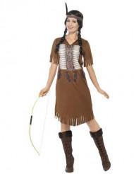 Süßes Indianerin-Kostüm für Damen