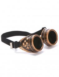 Steampunk Pilotenbrille für Erwachsene
