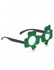 Kleeblatt Spaßbrille St. Patrick