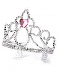 Prinzessin Herz-Diadem für Erwachsene und Kinder