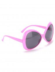 Brille Disco für Erwachsene in Rosa