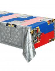 Mittelalterliche Ritter-Tischdecke 130 x 180 cm bunt