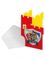 Einladungskarten Thema Burg