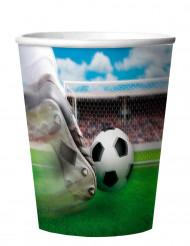 4 Trinkbecher Fussball 266 ml