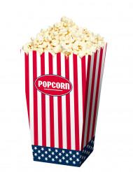 4 Popcorn Tüten USA