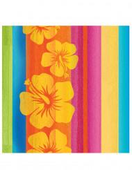 16 Hawaii Servietten 33 x 33 cm