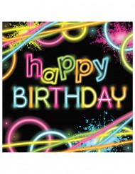 Papier-Servietten Happy Birthday