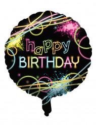 Ballon aus Aluminium zum Geburtstag 45 cm