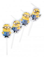 6 Strohhalme mit liebenswürdigen Minions™