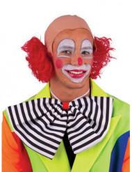 Clownsperücke mit Glatze