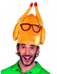 Witziger Weihnachtsgans-Hut