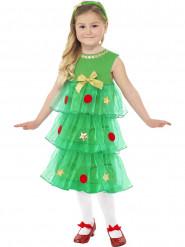 Tannenbaum-Kostüm für Mädchen