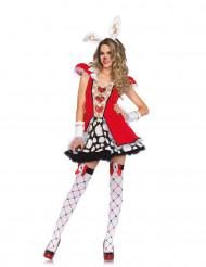 Weisser Hase Kostüm für Damen