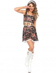 Schickes Hippie-Kostüm für Damen
