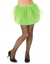 Tutu mit Tüll Petticoat für Damen neongrün