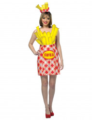 Pommes-Tüte Kostüm für Damen