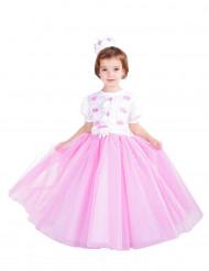Verkleidung als Prinzessin in Rosa für Mädchen - Premium