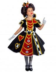Herzdame Kostüm für Mädchen