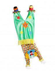 Kostüm kopfstandmachender Clown für Erwachsene